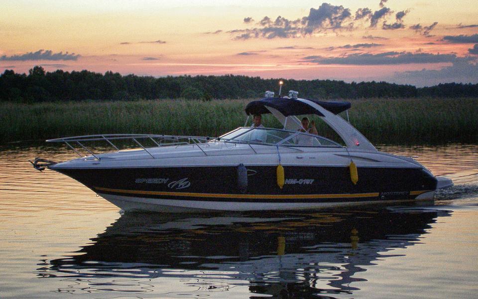 Wynajem łodzi Motorowych Mikołajki Mazury Mikołajki